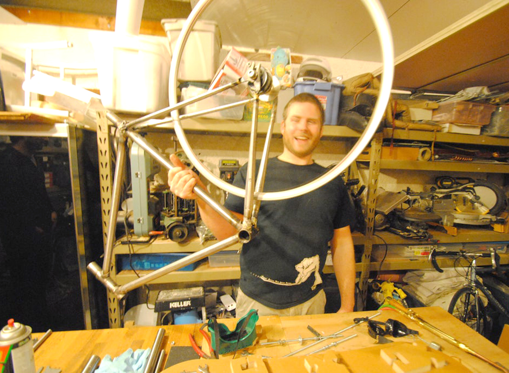 The Jiggernaut can help anyone build a customized, high quality bicycle frame