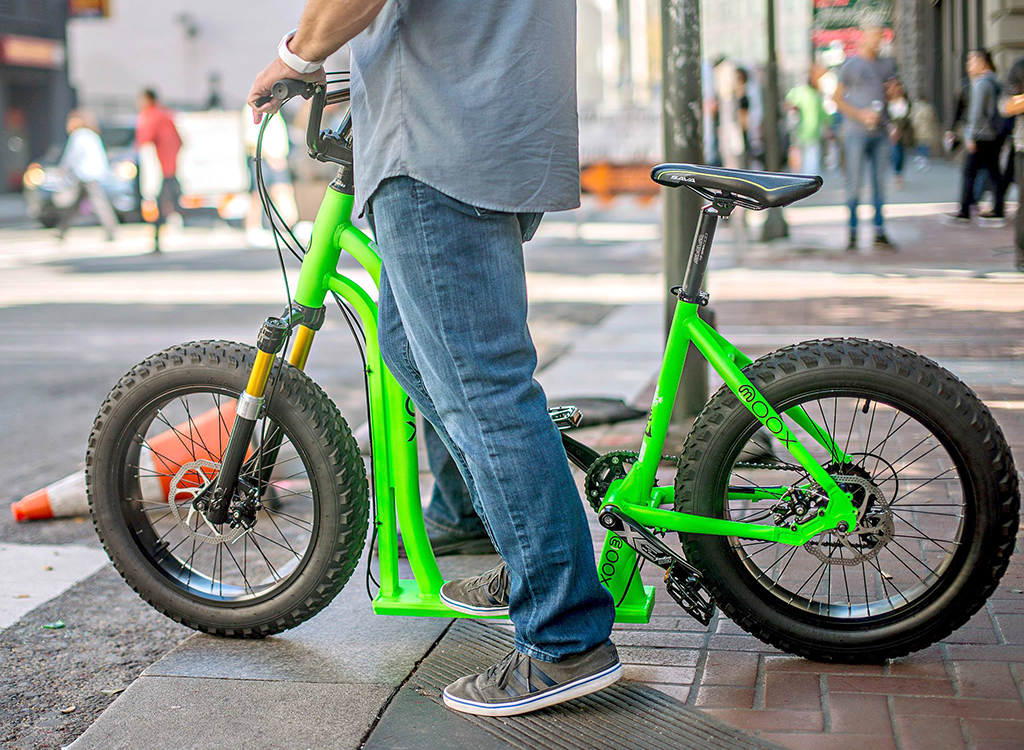 Moox Hybrid – between Bicycle and Scooter