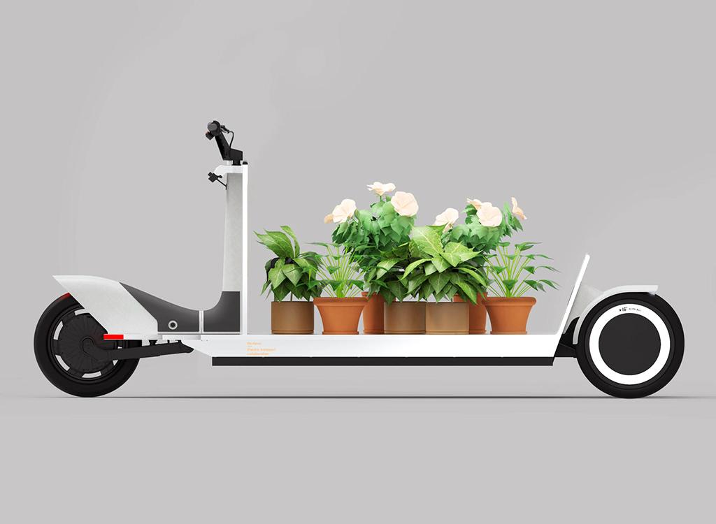 Polestar has designed the «Urban Sled» Electric Cargo bike