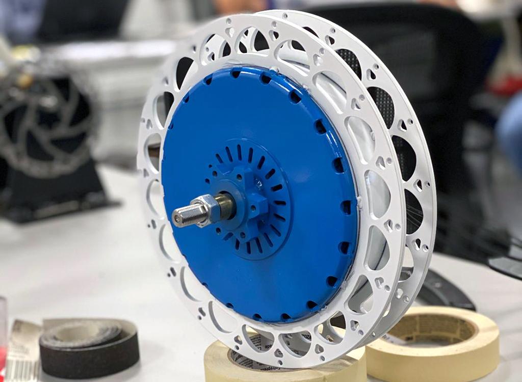 New e-bike rear hub motors from Linear Labs