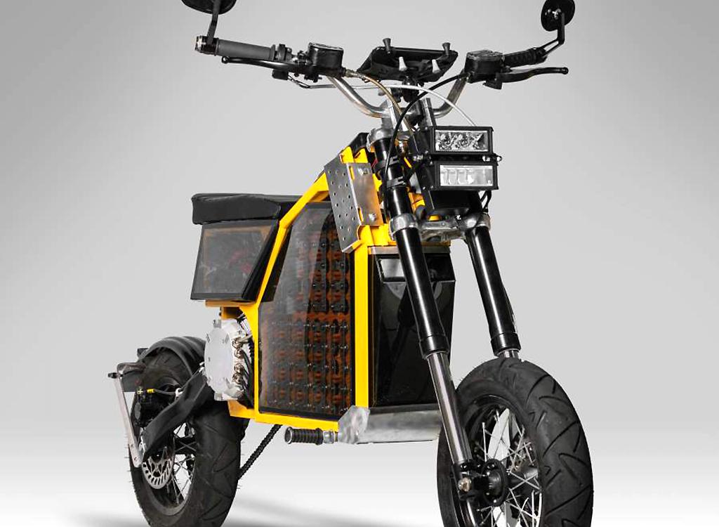 British startup creates customisable electric utility motorcycle