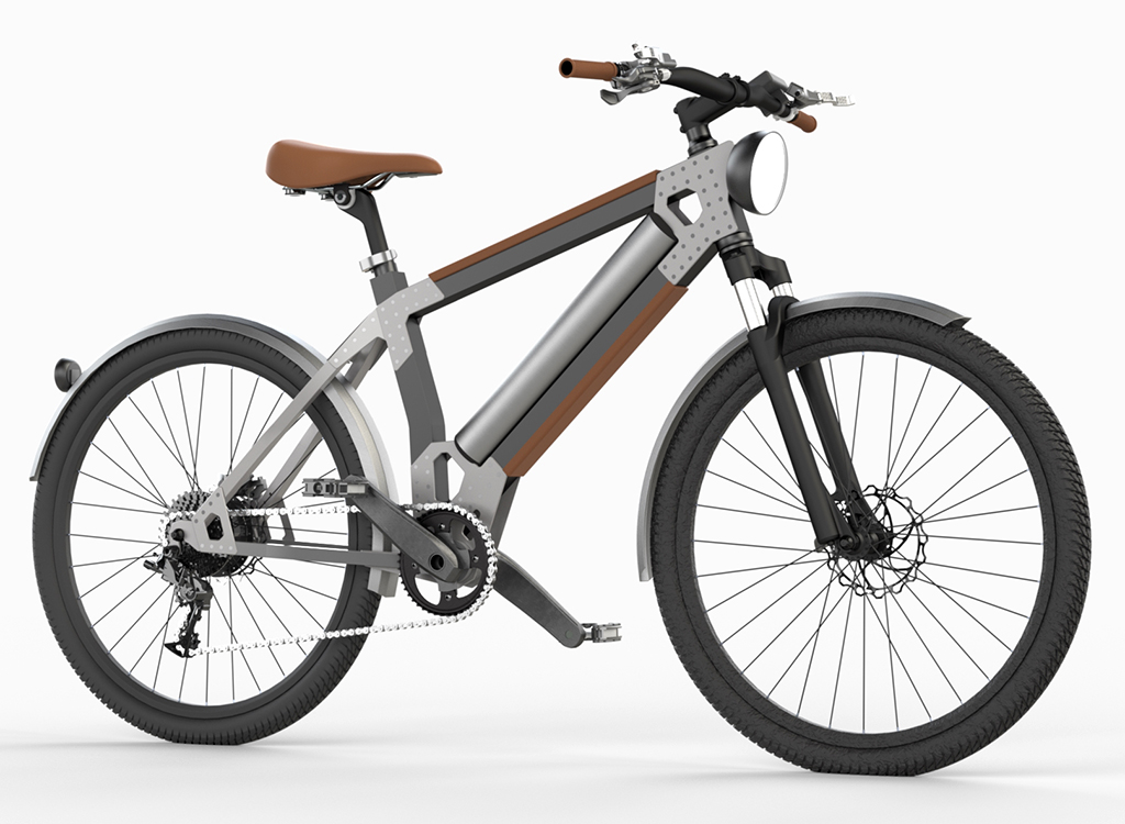The updated version of my affordable Commuter e-Bike with 1000W rear hub motor