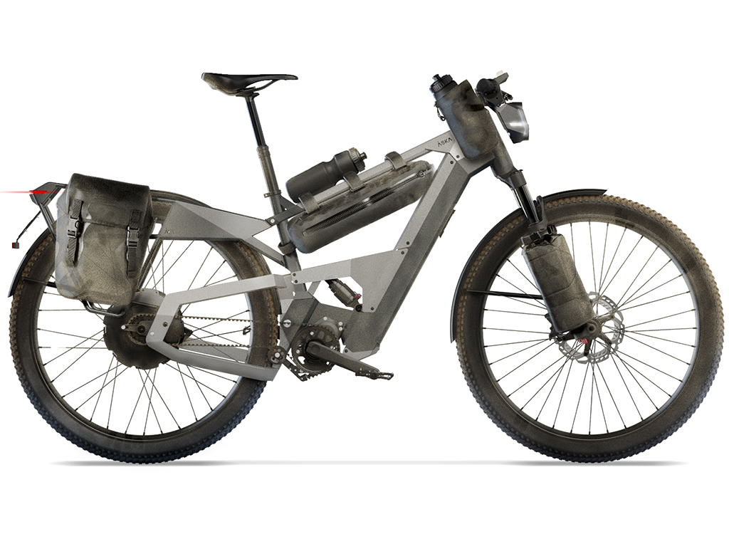 The new off-road e-bike by ÅSKA is always ready for adventure